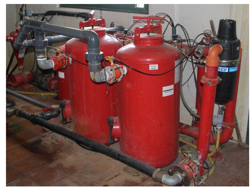 El sistema de riego localizado servicio regional de - Filtro de arena ...